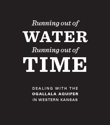 In dealing with the Ogallala Aquifer, western Kansas is
