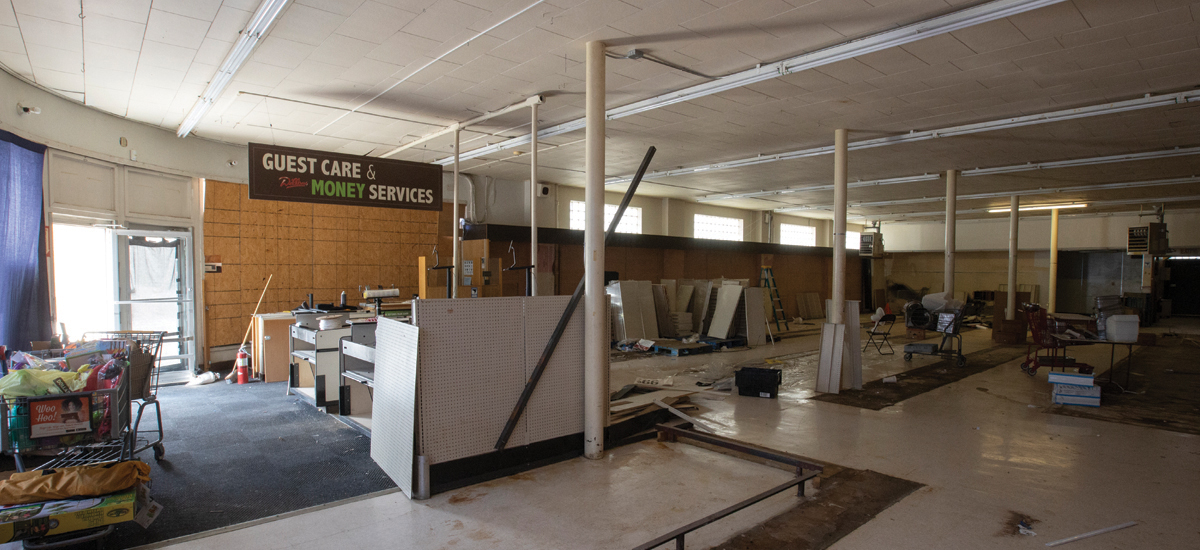 Inside the closed St. John Dillons