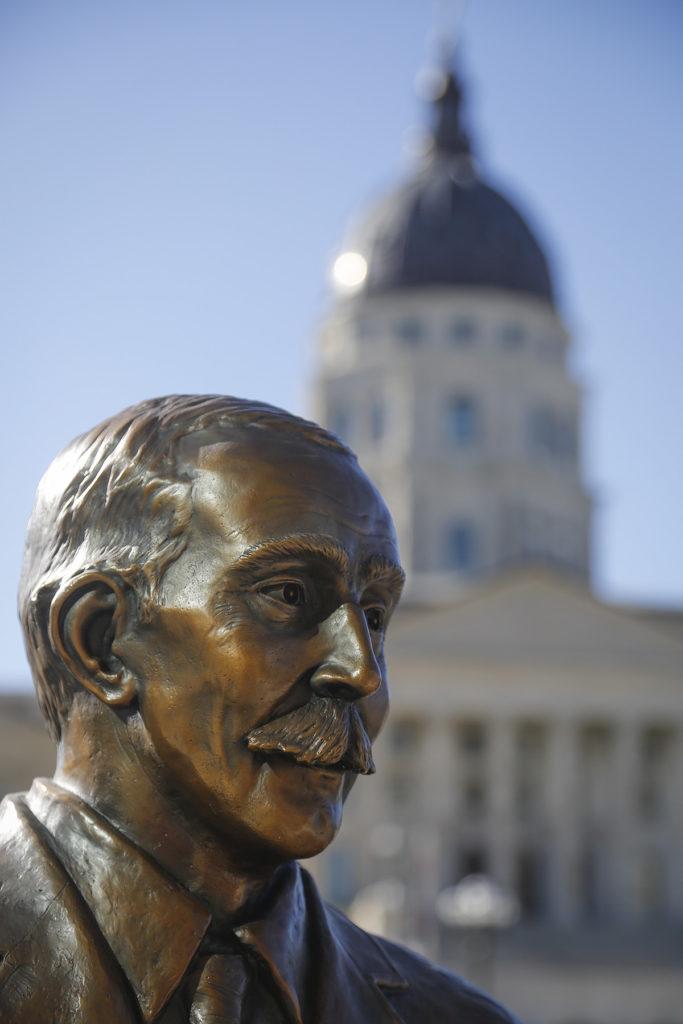 Public health hero Samuel Crumbine statute