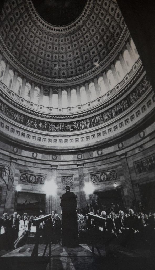 Dole in the rotunda