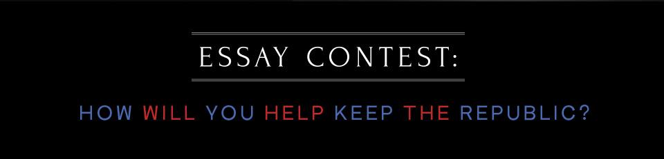 Keeping the Republic Essay Contest