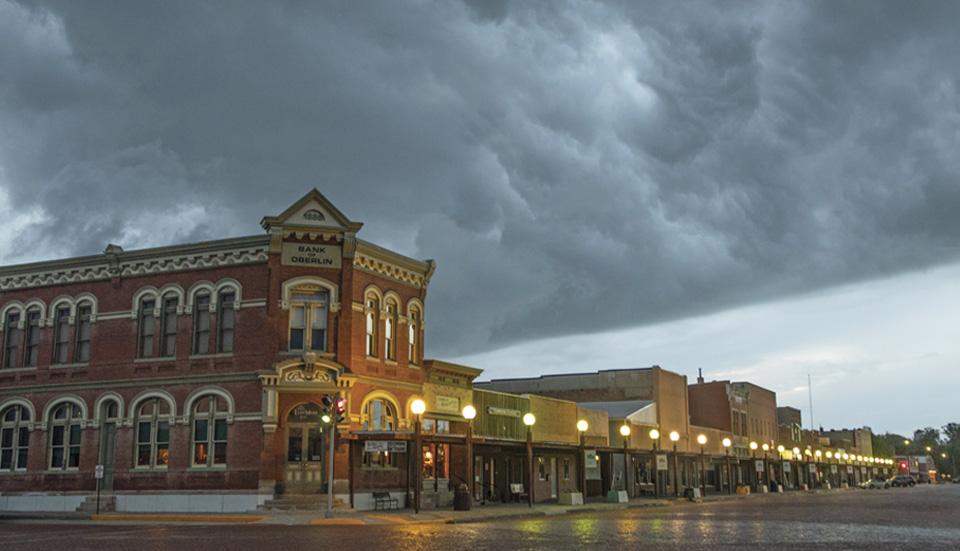 Downtown Oberlin, Kansas