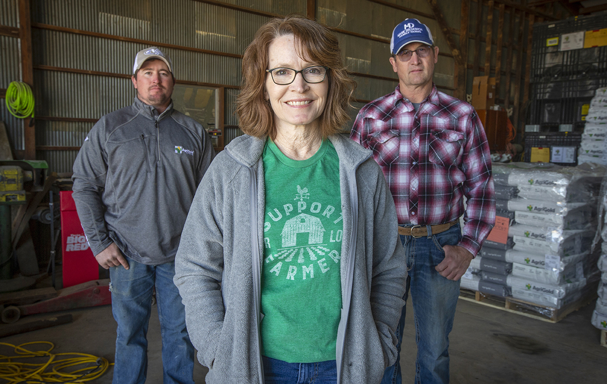 The Diederich family of Washington County benefitted from Shop Kansas Farms