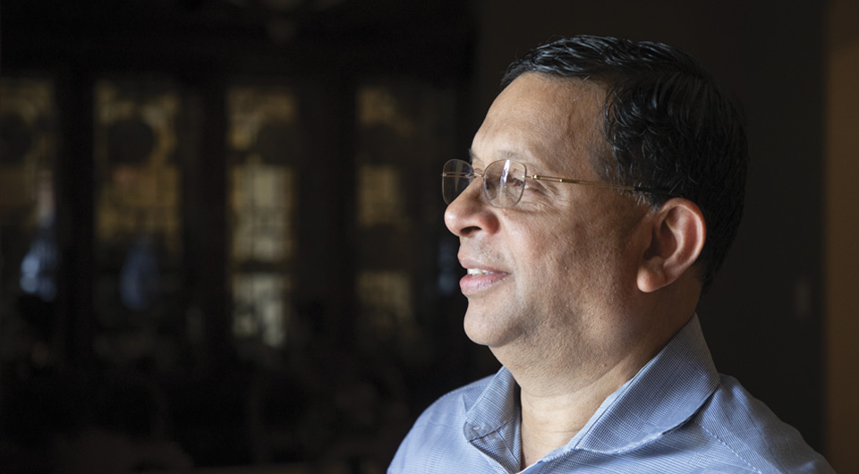 Joseph Melookaran who co-founded the Asian American Chamber of Commerce of Kansas City in 1998