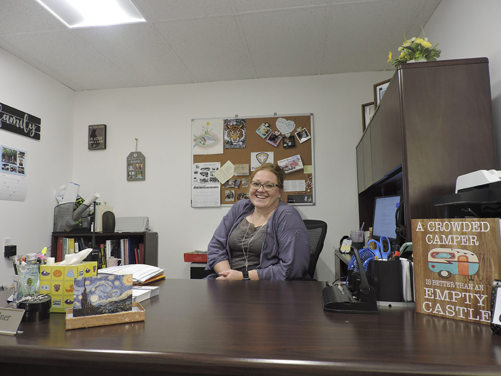 Aften Gardner, administrator of the Wallace County Health Department